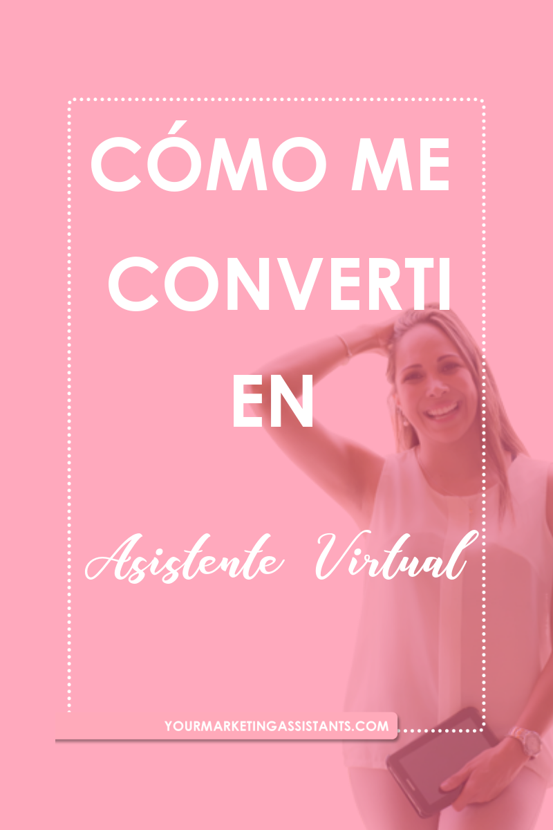 Pasar del mundo Corporativo a ser Asistente Virtual no fue de la noche a la mañana. Hubo una serie de acontecimientos que me impulsaron a dejar el fantástico mundo de ser empleada, e iniciar mi negocio de Asistencia Virtual. Conoce aquí mi historia de cómo me convertí en Asistente Virtual de Marketing. Espero que te inspire! - Virtual Marketing Assistants