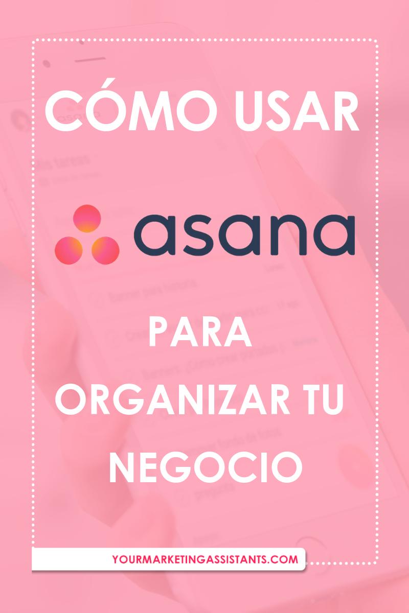 Aprende por qué deberías usar Asana para manejar tus proyectos y organizar tu negocio. También aprenderás cómo usar el app de Asana - Virtual Marketing Assistants