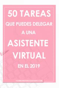 50 Tareas que puedes delegar a una Asistente Virtual - Escrito por Virtual Marketing Assistants