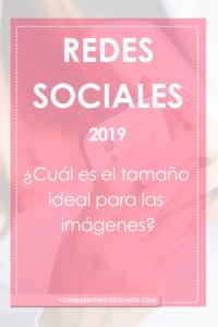 Medidas ideales para redes sociales para el 2019