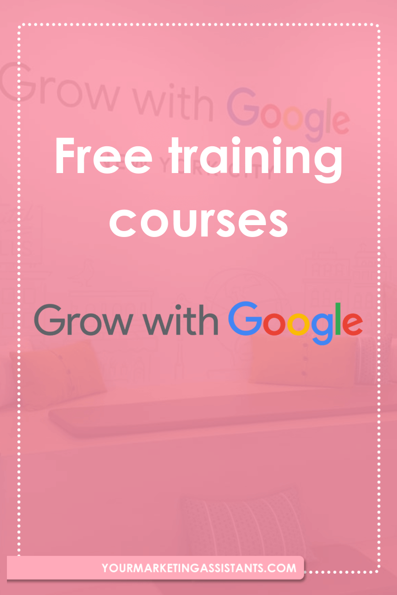 free workshops with Google