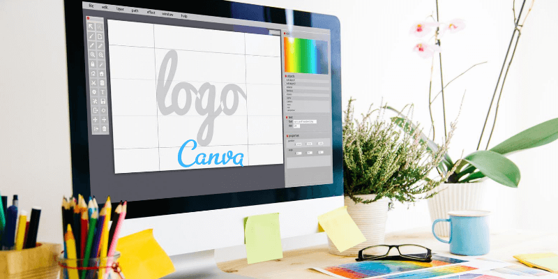 how to create a logo with canva