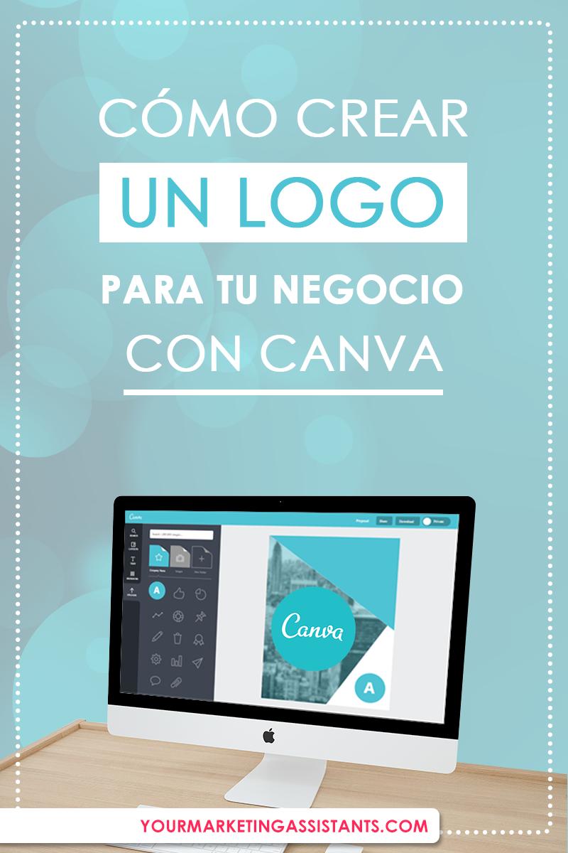 crear logo en canva para tu negocio