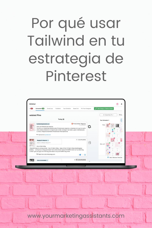 Qué es Tailwind y por qué debes usarla en tu estrategia de Pinterest